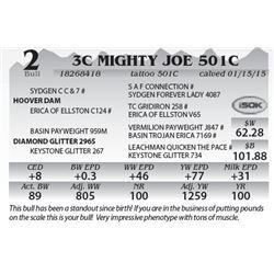 Lot 2 - 3C Mighty Joe 501C