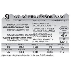 Lot 9 - GC 3C Processor 525C