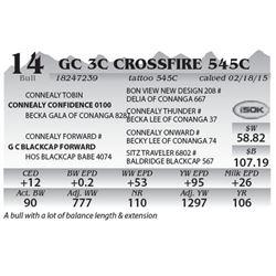Lot 14 - GC 3C Crossfire 545C