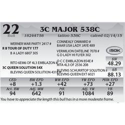 Lot 22 - 3C Major 538C
