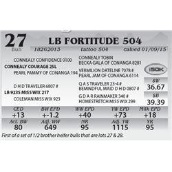 Lot 27 - LB Fortitude 504