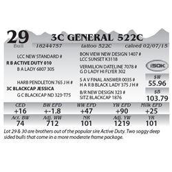 Lot 29 - 3C General 522C