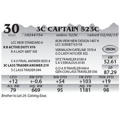 Lot 30 - 3C Captain 523C