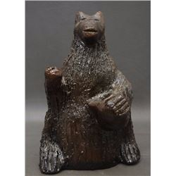 NAVAJO POTTERY BEAR (GOODMAN)