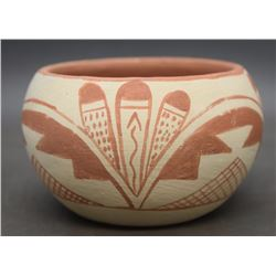 TESUQUE POTTERY BOWL