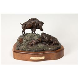 Charles A. Beil, bronze