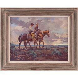 Newman Myrah, acrylic on canvas