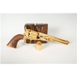 "1860 Colt Revolver, 13"" overall length"