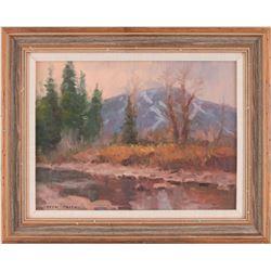 Drew Smith, oil on canvas