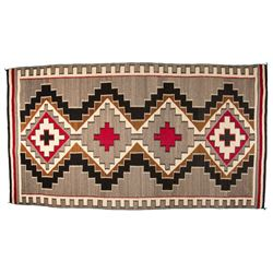"Navajo Weaving, 7'1"" x 3'11"