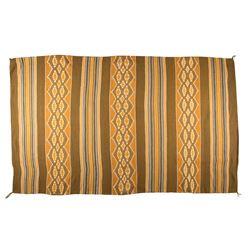 "Navajo Weaving, 8'7"" x 4'"