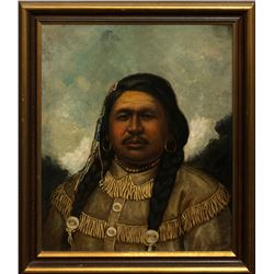 Henry Herman Cross, oil on canvas