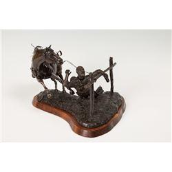 Ralph 'Tuffy' Berg, bronze