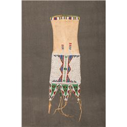 """Sioux Beaded Tab Style Pipebag, 18"""" long"""