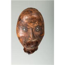 """Eskimo Mask, 10"""" x 6 ½"""""""