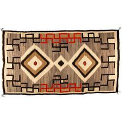 "Navajo Weaving, 7'9"" x 4'2"""