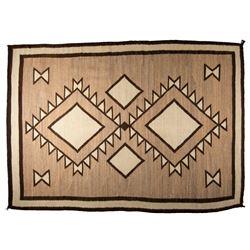 "Navajo Weaving, 6'9"" x 4'10"""