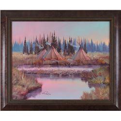 Ron Bailey, oil on canvas