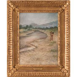 Grace Carpenter Hudson, oil on canvas