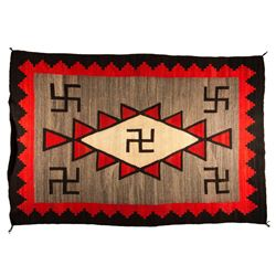 "Navajo Weaving, 7'8"" x 5'"