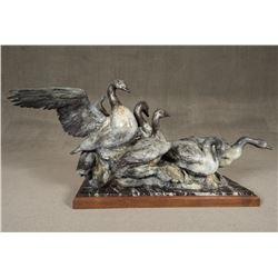 Sherry Sander, bronze