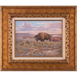 George Dabich, oil on canvas