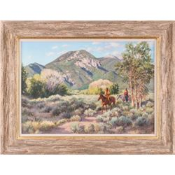 Susan Terpning, oil on canvas
