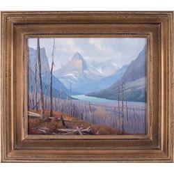 Jeff Walker, oil on canvas