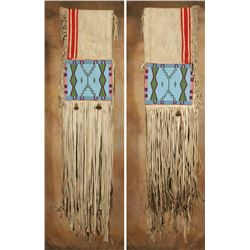 "Blackfeet Beaded Saddle Drape, 47"" x 12"""