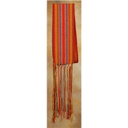"Red River Finger Woven Sash, 76"" x 6 ½"""