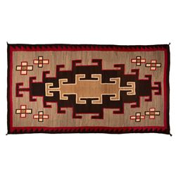 "Navajo Weaving, 10'10"" x 6'"