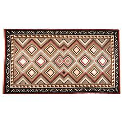 "Navajo Weaving, 10'9"" x 6'"
