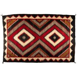"Navajo Weaving, 6'9"" x 4'5"""