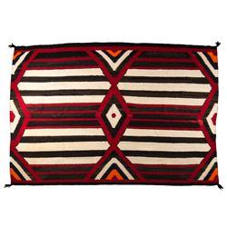 "Navajo Weaving, 6'8"" x 4'6"""