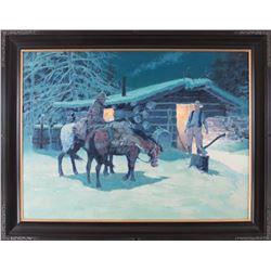 Kim Mackey, oil on canvas