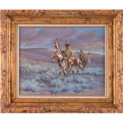 Robert Morgan, oil on canvas