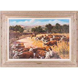 Jim Ward, oil on canvas