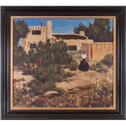 Burt Procter, oil on canvas