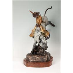 Gordon Monroe, bronze
