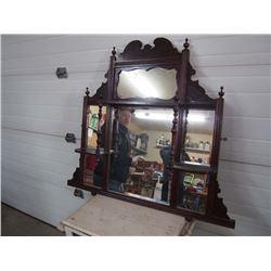 Victorian Vintage Wall Display Mirror