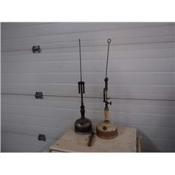 Vintage Coleman Hanging Lamp, Set of 2
