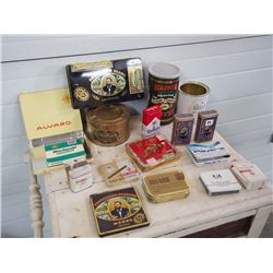 Tobacco Tins (17), Assorted
