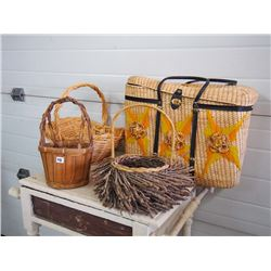Assorted Baskets (4)