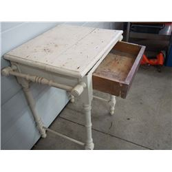 Antique Basin Washstand with Drawer
