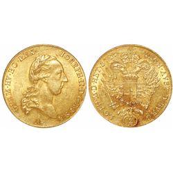 Austria, 2 ducats, Josef II, 1786-A.