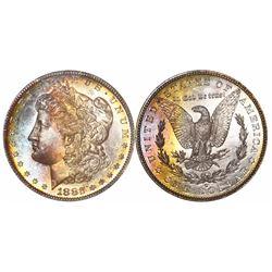 USA (San Francisco mint), $1 Morgan, 1882-S, encapsulated NGC MS 67.