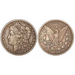 USA (Carson City mint), $1 Morgan, 1882-CC.