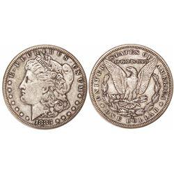 USA (Carson City mint), $1 Morgan, 1883-CC.