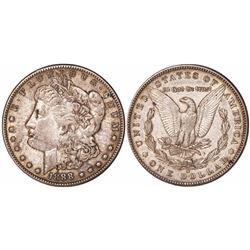 USA (San Francisco mint), $1 Morgan, 1888-S.
