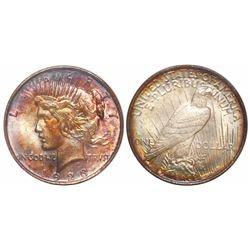 USA (Philadelphia mint), $1 Peace, 1923, encapsulated NGC MS 64.